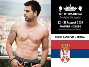 Mister Serbia Top International Model 2016