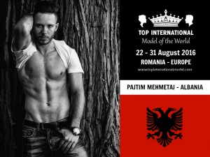Mr. Albania Top International Model