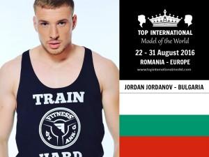 Mr. Bulgaria Top International Model 2016