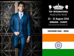 Mr. India Top International Model 2016